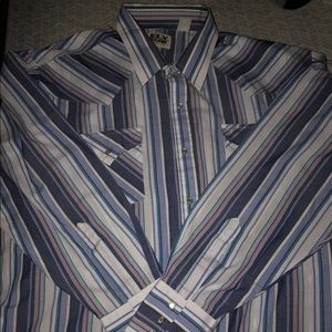 Ely Cattlemen Long Sleeve Button Up Pearl Snap 2XL